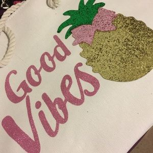 Handbags - Rope Tote 🍍Good Vibes